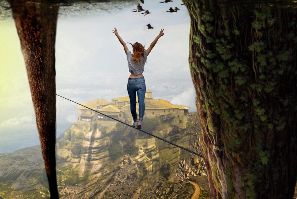 nature, stunt, wood